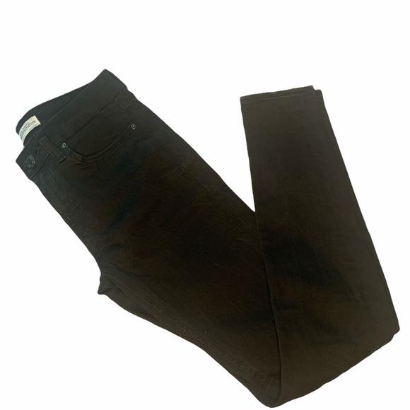 Black Distressed Zara Womens Jeans Size 2